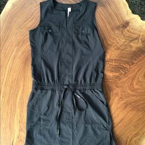 Lole sleeveless black athleisure dress